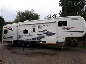 Caravan direct import from USA as seen on TV 38' Openroad with 4 slide outs. Price dropped!
