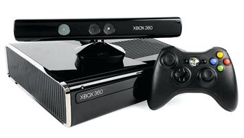 XBOX 360 Slim, 500 GB plus games and Kinect
