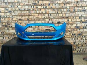 Ford Fiesta Facelift Front Bumper