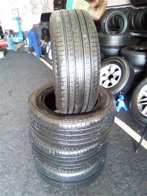 255/55/19 brand new Pirelli tyres x4 for only R8000.00.