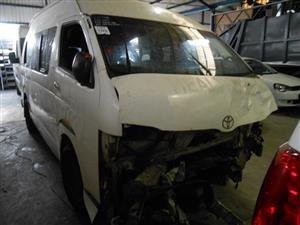 2010 Toyota Quantum 2.7 panel van