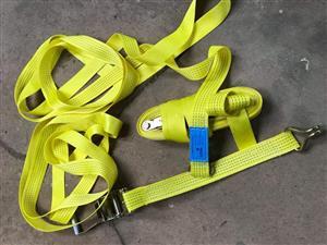 5t X 10M ratchet straps.