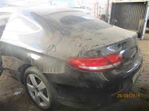 MERCEDES BENZ C220 D STRIPPING FOR SPARES