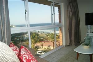 1 bedroom fully furnished flat to rent in Umdloti Central for R10 500,00 per month.