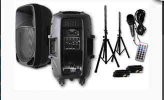 SoundTastic Sound Hire / PA System Rental / DJ Equipment Rental - R799