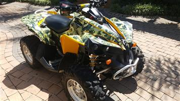 2007 Can-Am Renegade 800
