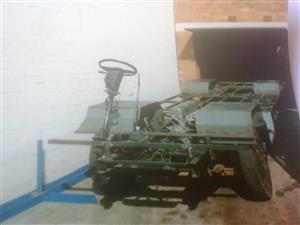 Mitsubishi Cabstar rolling chassis