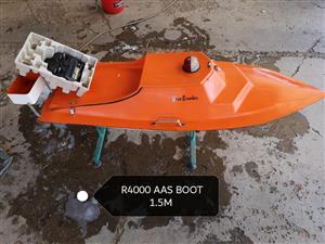 Oranje aasboot te koop