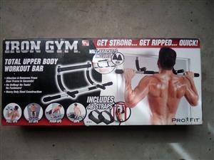 Iron gym workout