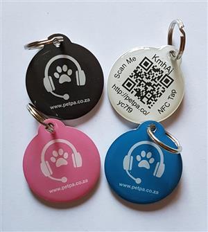 Digital Pet ID Tag
