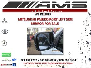 PAJERO SPORT LEFT SIDE MIRROR