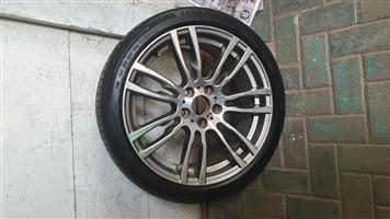 "bmw 3 series 19"" m sport rim & tyre"