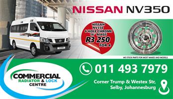 NISSAN NV350 CHROME MAGS