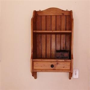 shelf coubords oak wood solid