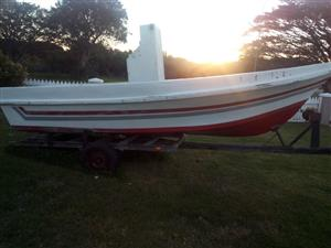 Boat with trailor