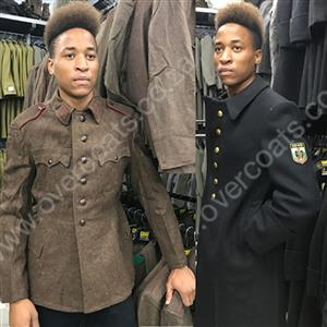 Military surplus Overcoats and Parkas for resale.