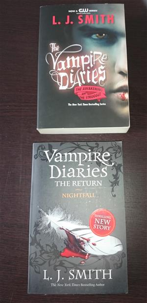 The Vampire Diaries (2 books)