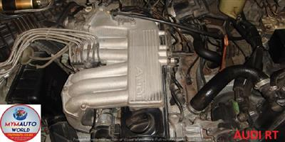 USED SECOND HAND LOW MILEAGE QUALITY ENGINES - AUDI 100 2.0L RT