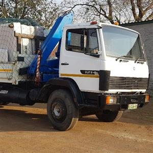 8 Ton Truck with crane for hire
