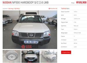 2015 Nissan NP300 Hardbody 2.0