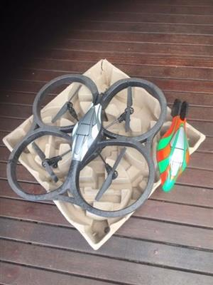 Drone with battery pack