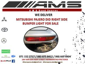 MITSUBISHI PAJERO DID BUMPER LIGHT