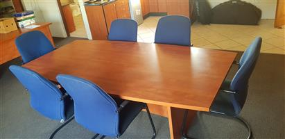 Boradroom Table and Chairs