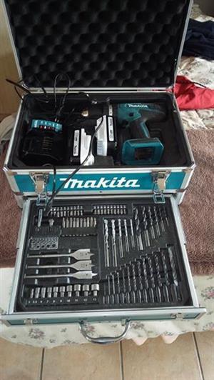 Makita complete drill set
