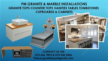 PM GRANITE AND MARBLE INSTALLATIONS