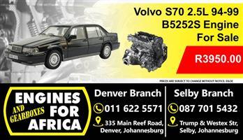 Used Volvo s70 2.5L 94-99 B5252s
