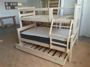 Standard tri bunk beds for sale
