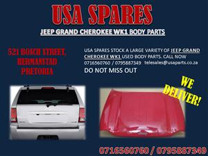 JEEP GRAND CHEROKEE WK1 BODY PARTS FOR SALE- CALL NOW