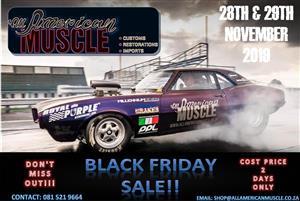 Black Friday Specials on Vintage Cars & Parts