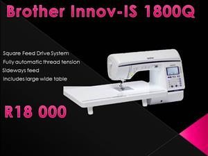 Black Friday Special - Brother Innov-IS 1800Q Sewing Machine