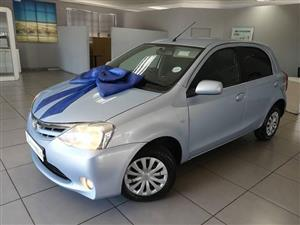 2013 Toyota Etios sedan 1.5 Sprint