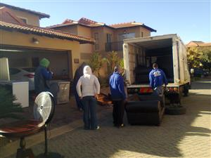 Furniture Removals Less from R900