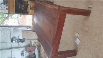 Solid Kiaat Table