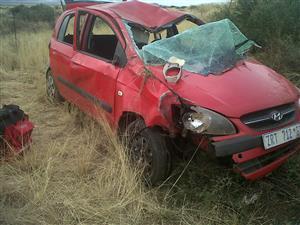 Accident damaged Hyundai Getz