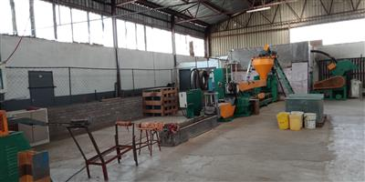 Plastic recycling plant 200kg/hour