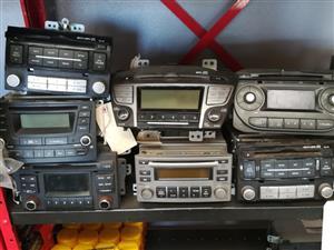 HYUNDAI and KIA USED RADIOS