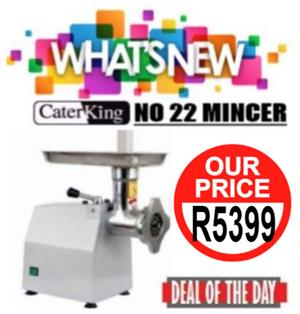 NO 22 MEAT MINCER