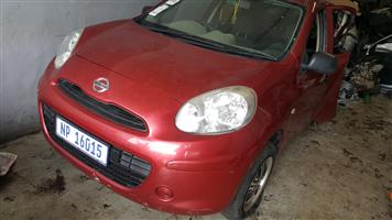 NISSAN MICRA STRIPING FOR SPARES