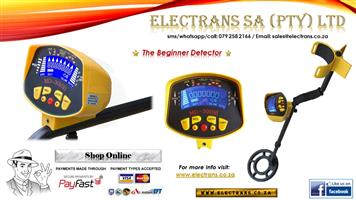 MD3010II Gold/Metal Detector - Electrans SA (We Courier)