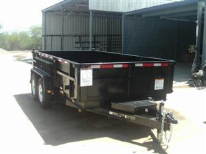 x14 14K Dump Trailer For Sale