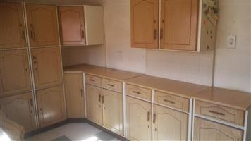 Steel Kitchen units set