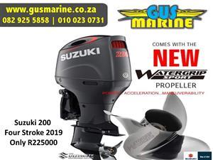 Suzuki DF200HP 4 Stroke EFI Motor - Brand New