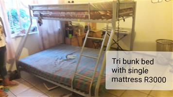 Tri bunk beds for sale