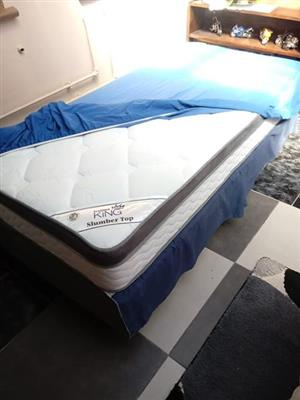 New single bed and base set.