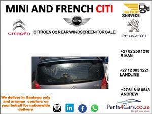 Citroen c2 rear windscreen for sale