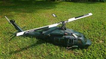 Scale American black hawk helicopter 500 size
